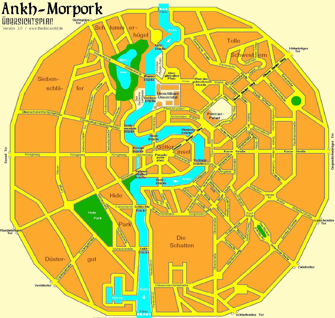 Benutzer Hybscher Karte Von Ankh Morpork Discwiki